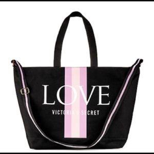 Victoria's Secret LOVE weekender tote